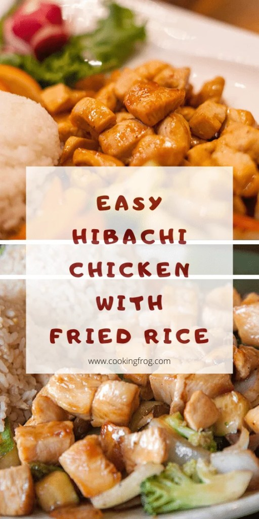 Easy Hibachi Chicken with Fried Rice