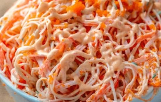 Japanese Kani Salad Easy Recipe