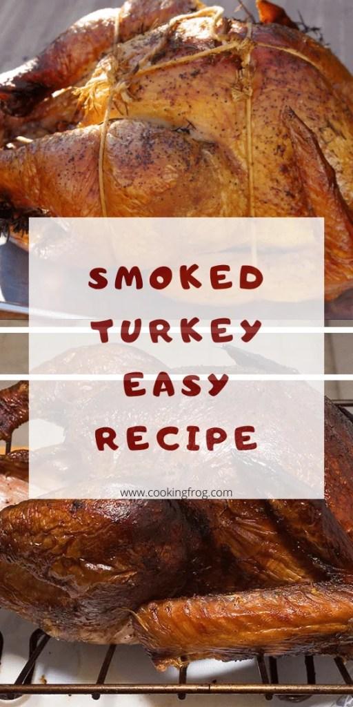 Smoked turkey easy recipe