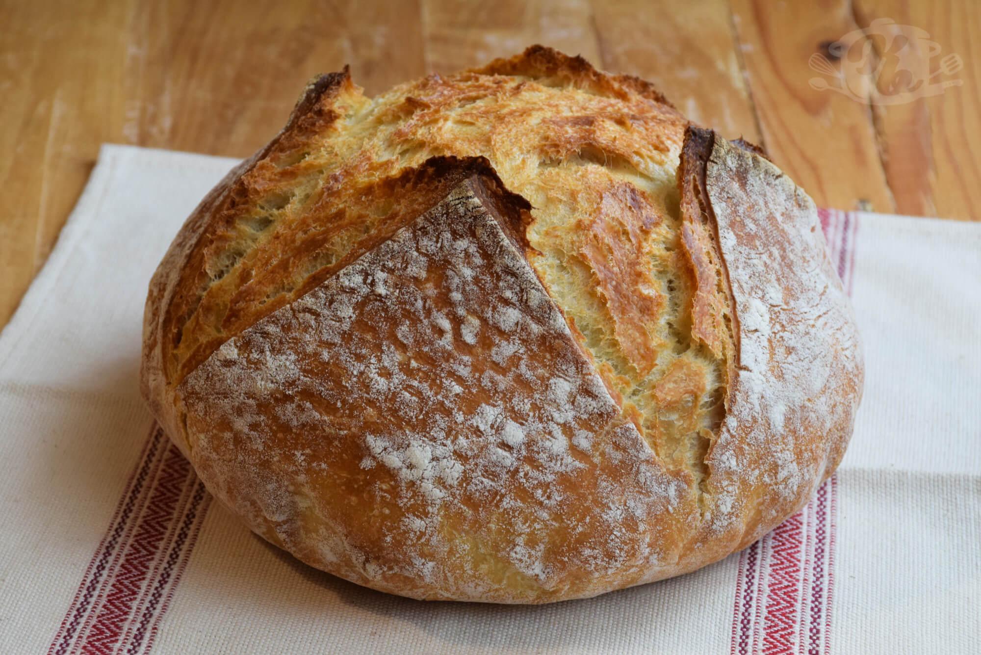 Homemade Peasant Bread Easy Recipe