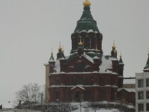 The Uspenski Orthodox cathedral