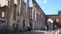 San Lorenzo columns