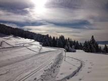 Nordic ski track, Le Semnoz
