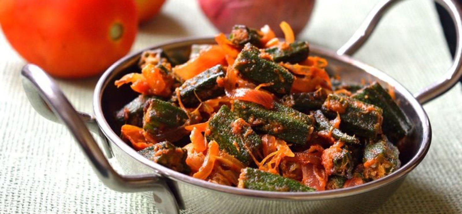 Bhindi Masala   Okra Stir-fry