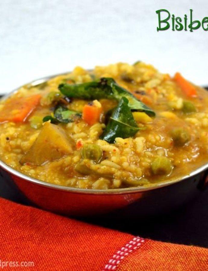 Bisibelebath   Karnataka Special   Easy Lunch Ideas