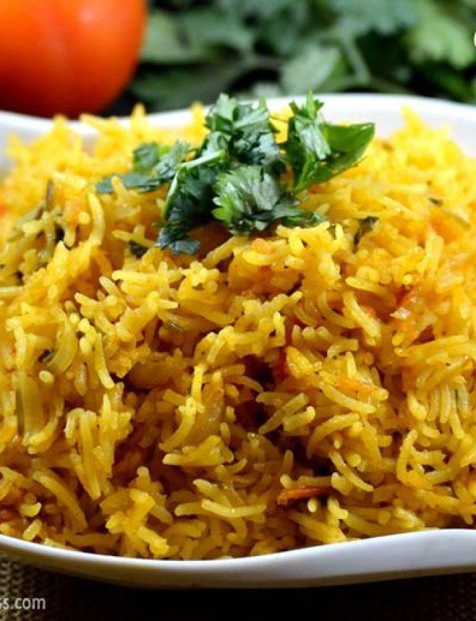 Tomato Biryani | Thakkali Biriyani | Quick Lunch Ideas