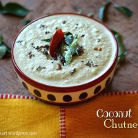 Coconut Chutney | Easy Side Dishes