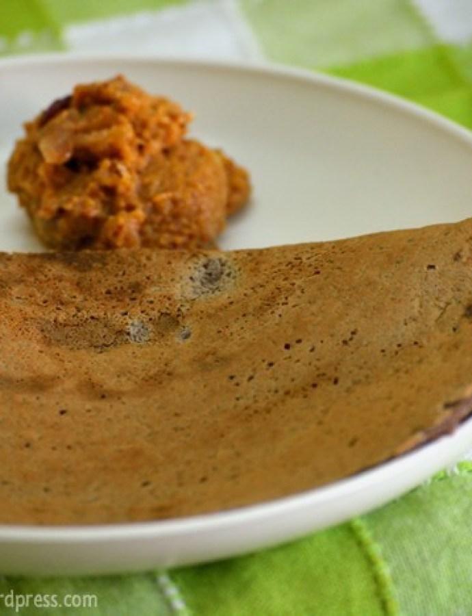 Ragi Dosa | Finger Millet Dosa | Healthy Recipes