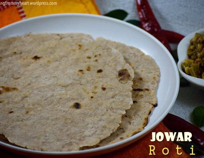 Jowar Roti | Jolada Rotti | Sorghum Flat Bread Recipe | Zero Oil Recipes