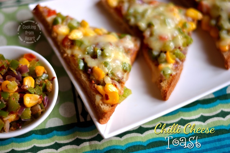 Chilli Cheese Toast 5