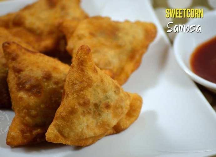 Crispy Sweetcorn Samosa