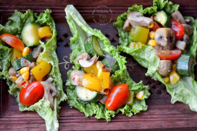 Lettuce Wrap Salad (5)