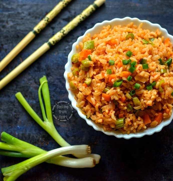 Vegetable Schezwan Fried Rice