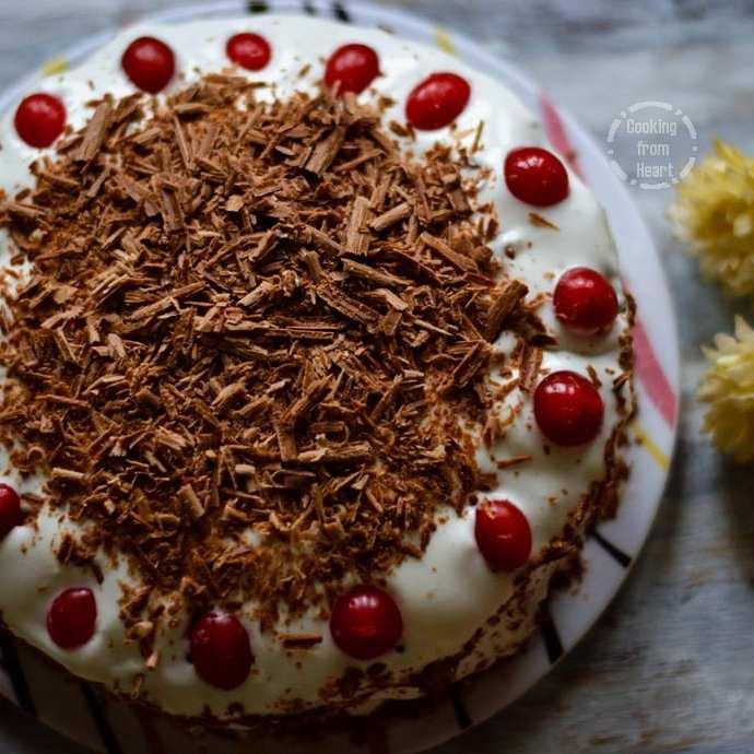 Eggless Black Forest Cake   Birthday Celebration Cakes