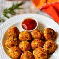 Low Calorie Paneer Balls | Crispy Paneer Balls