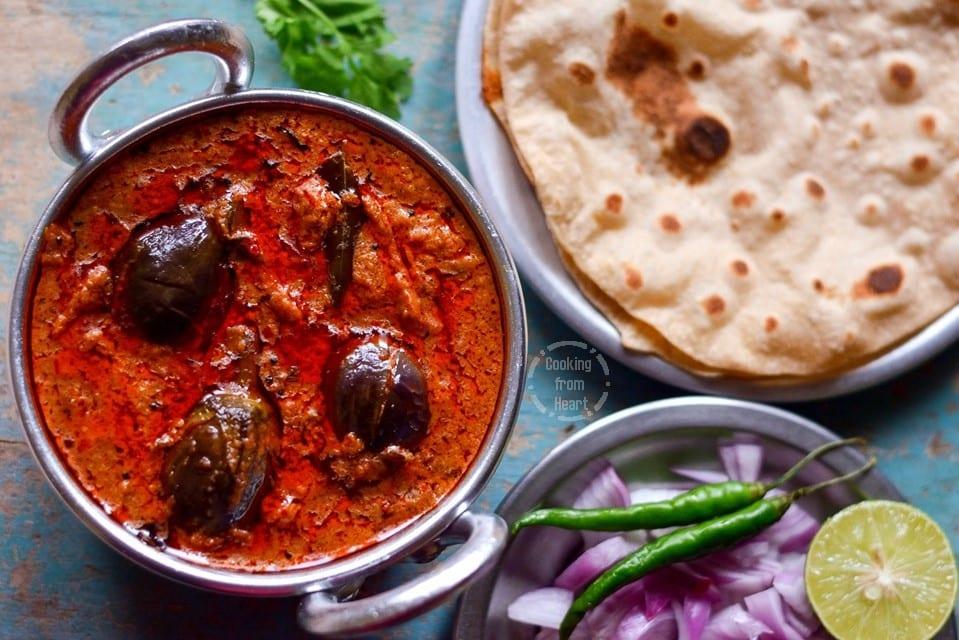 Gutti Vankaya Kura   Rayalaseema Gutti Vankaya Curry