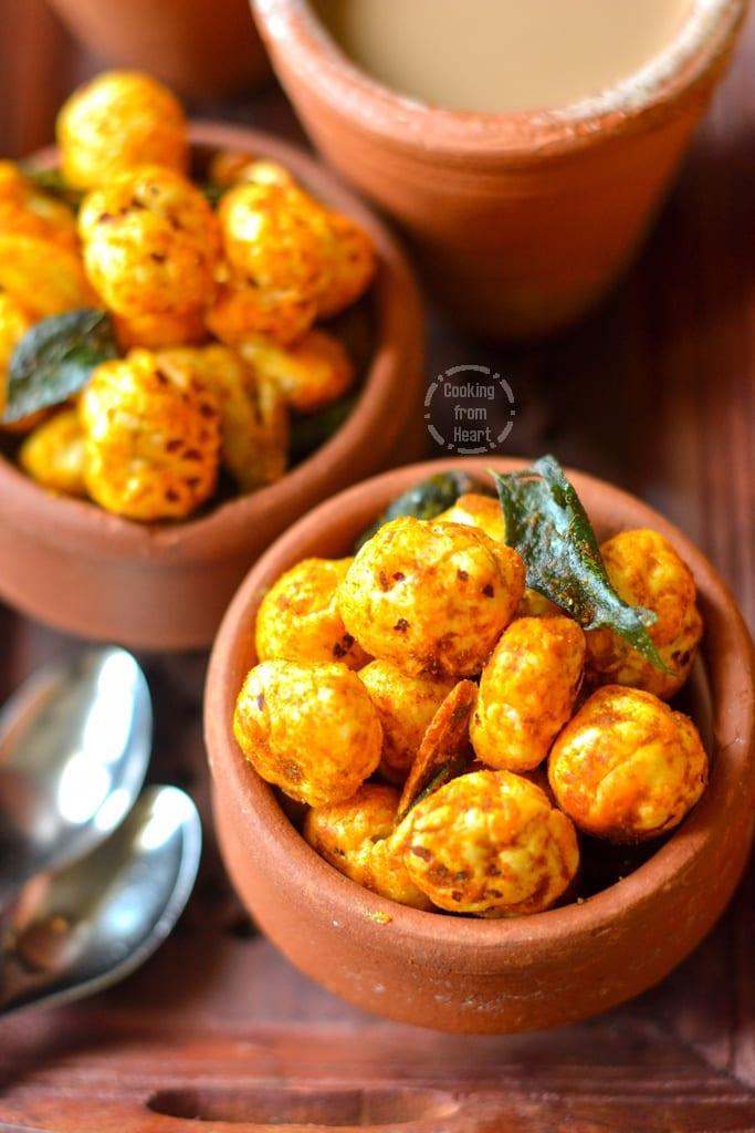 Spicy Roasted Makhana