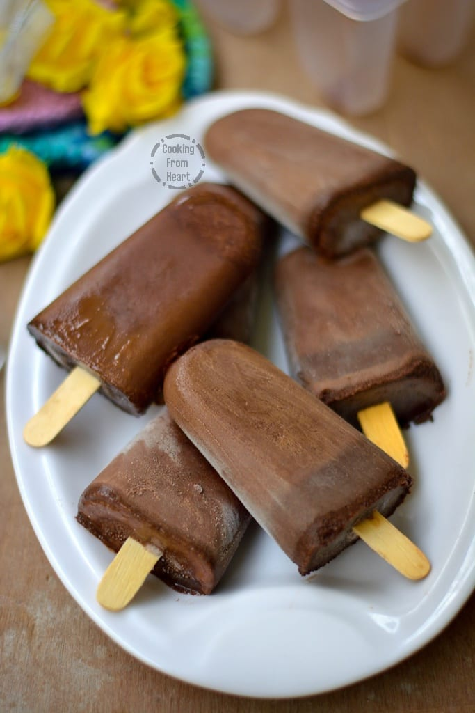 Chocolate Fudge Pops
