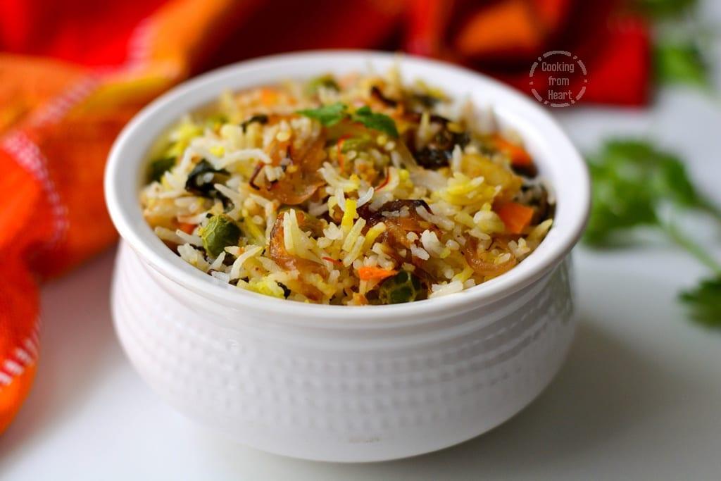 Zaffrani Vegetable Pulao