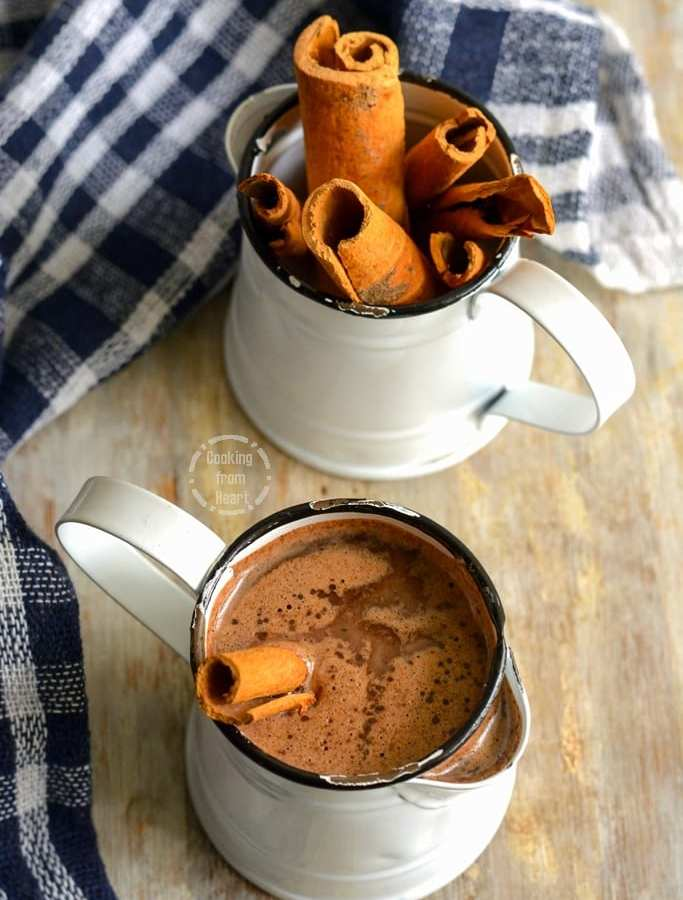 Cinnamon Hot Chocolate | Cinnamon Hot Cocoa