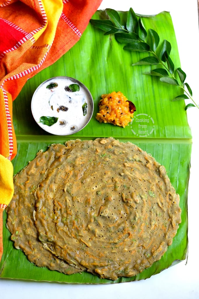 How to make Instant Millet Adai