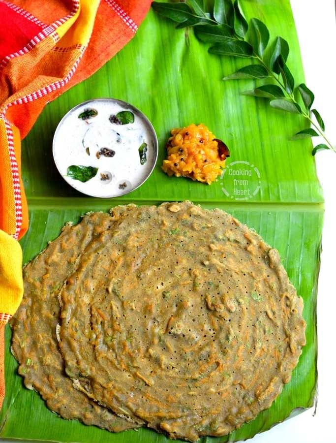 Instant Gluten-Free Millet Adai | Instant Adai Recipe