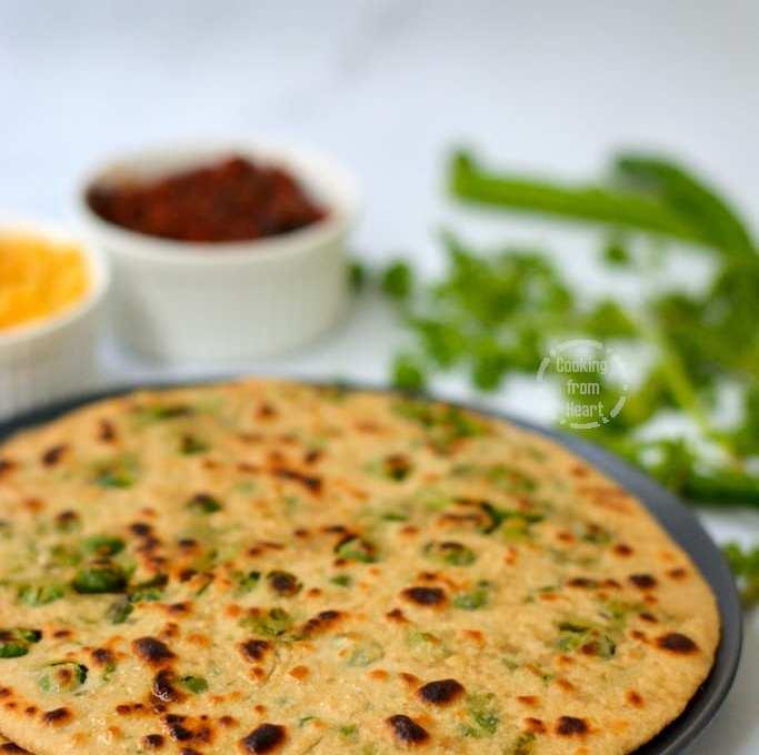 Matar Paratha | Green Peas Paratha
