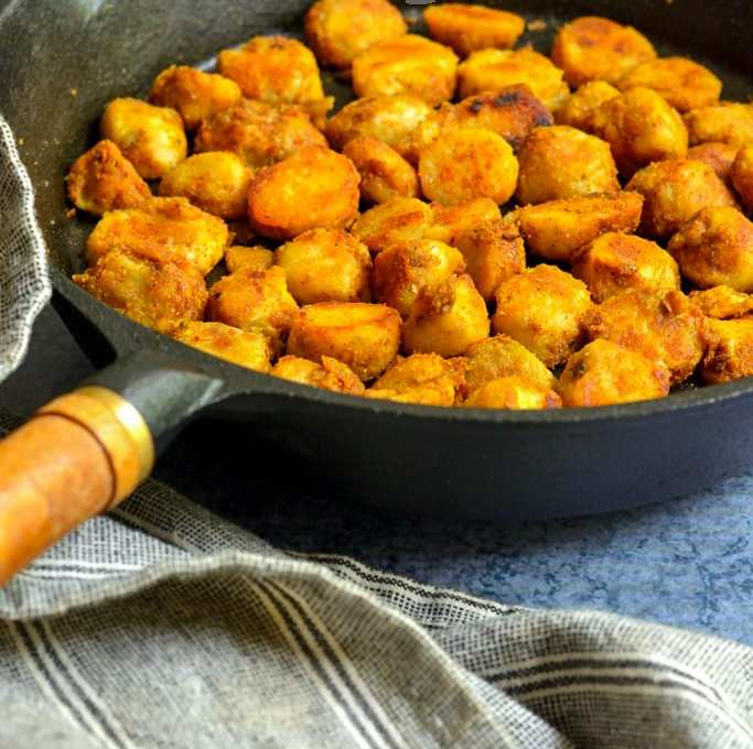 Seppankizhangu Roast | Chamadumpa Vepudu | Arbi Fry