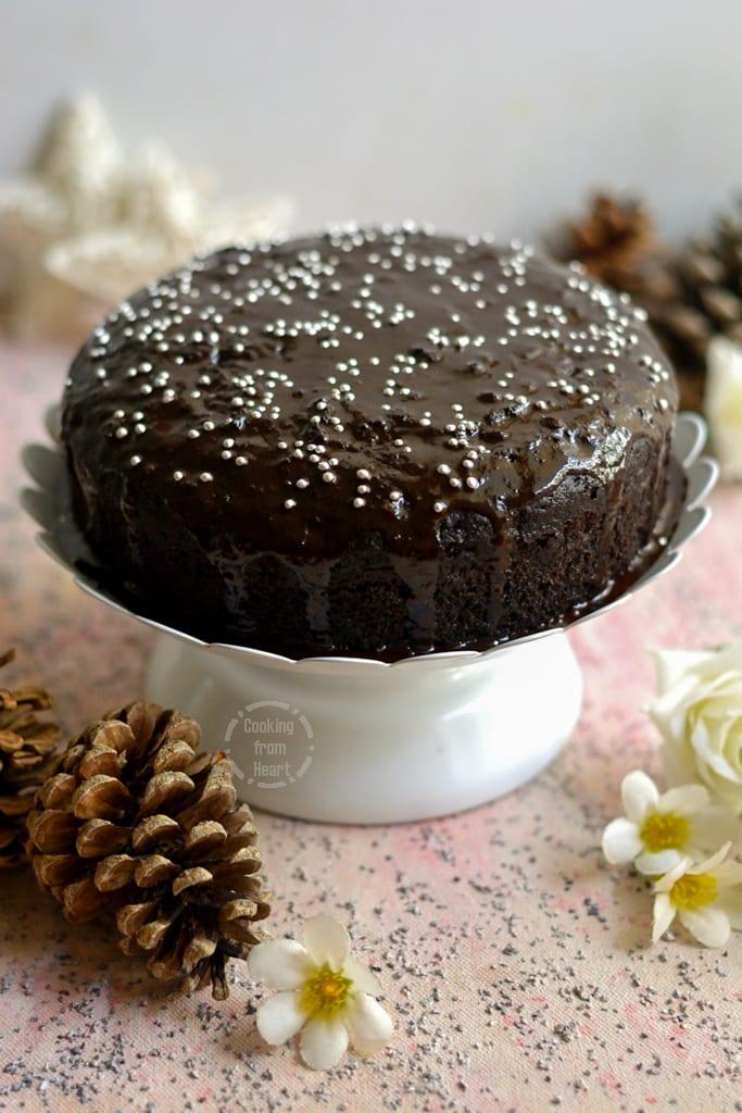 Stove Top Chocolate Cake