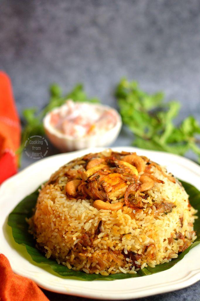 Thalassery Egg Biriyani