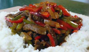 Take Out Style Pepper Steak Recipe