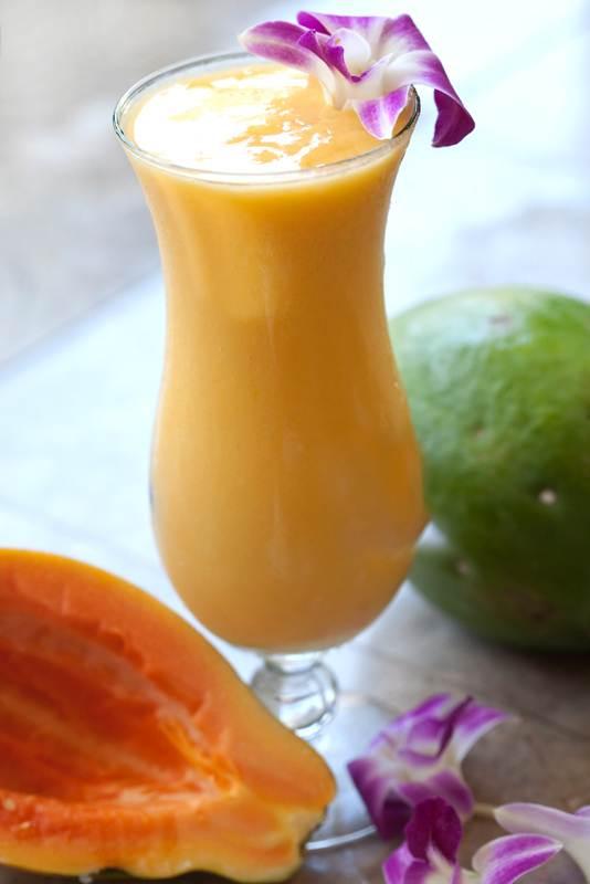 Papaya-Ginger-Smoothie