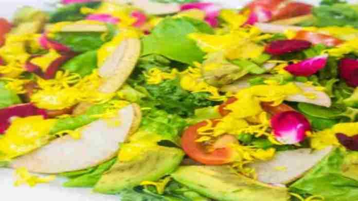 Jesse-Lipmans-Hooulu-Aina-Salad-Mango-Dressing