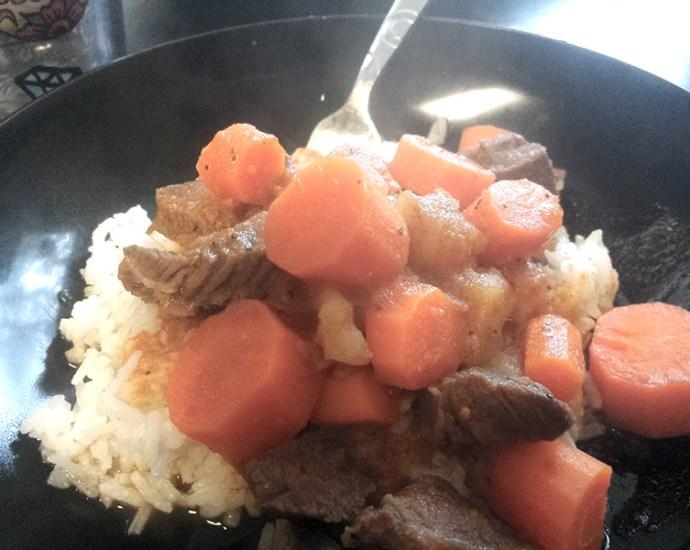 Carne con papas Cuban Beef Stew