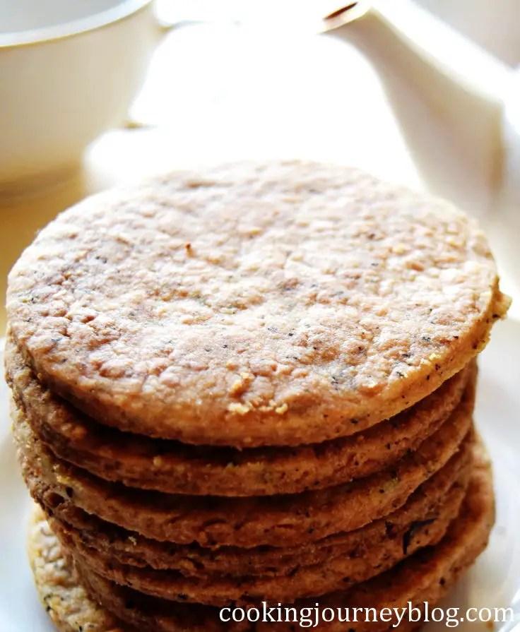 earl grey tea infused cookies