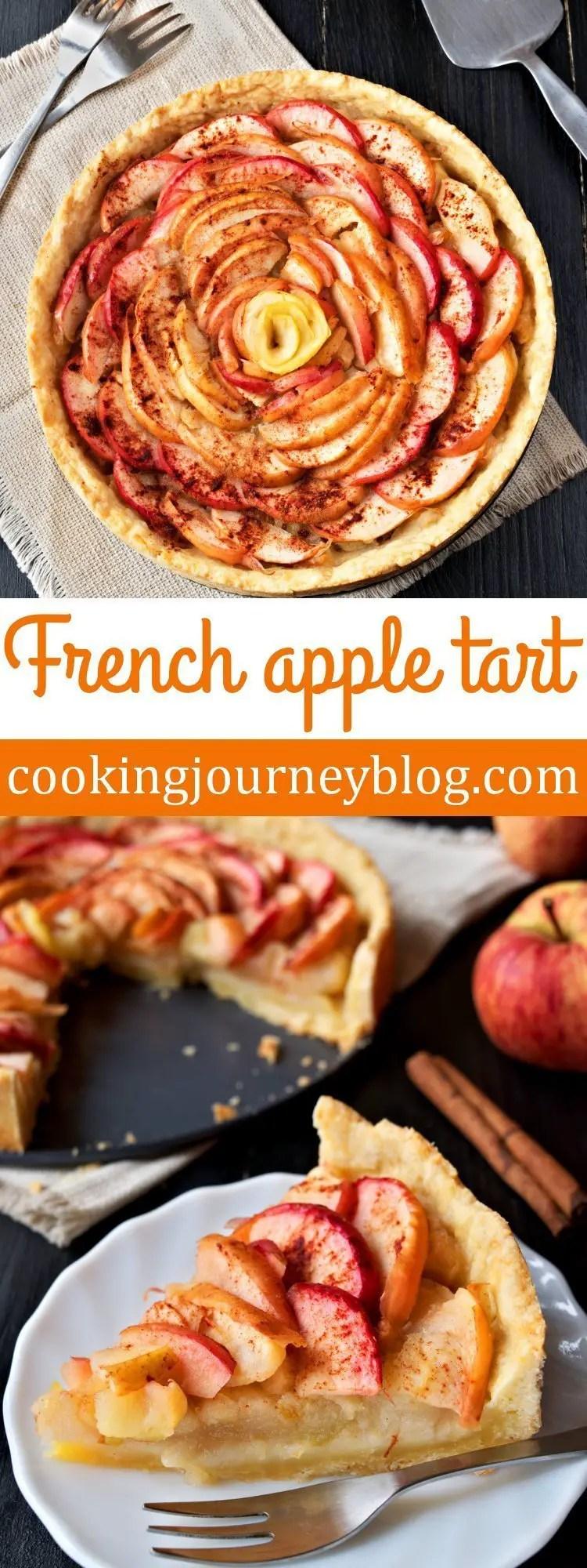 French apple tart – Apple dessert recipes