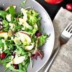 Cranberry salad recipes – Apple cranberry salad with feta