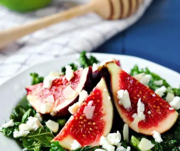 Fresh fig recipes – Fig salad