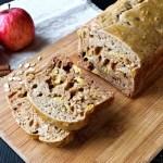 Apple Cinnamon bread - Oatmeal bread