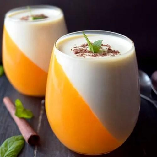 orange panna cotta easy christmas desserts cooking journey - Easy Christmas Desserts