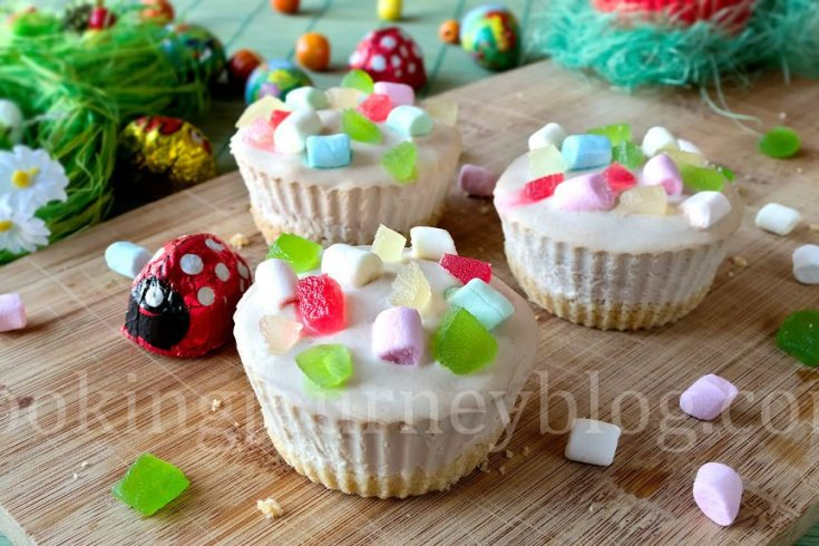 Mini cheesecake recipe – Easter desserts – Easter recipes