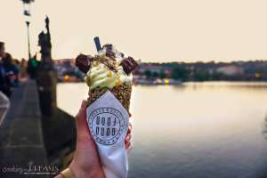 3 Days in Prague - Chimney cake
