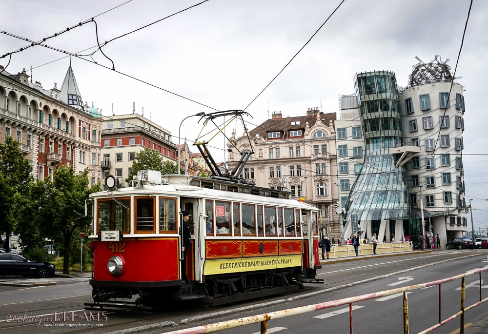 3 Days in Prague - Dancing House of Frank Gehry
