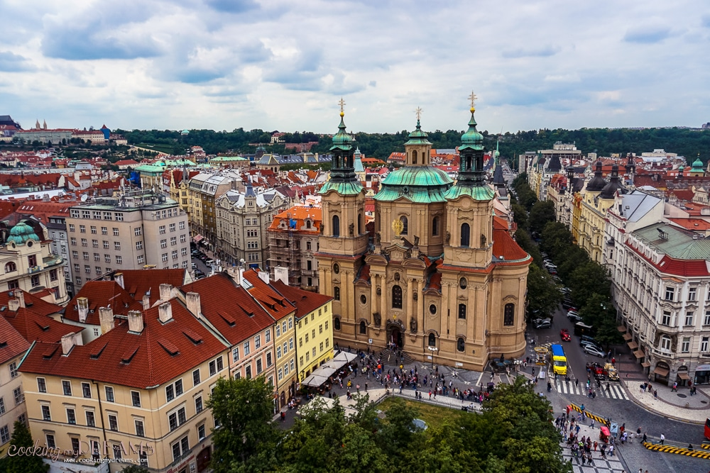 3 Days in Prague - Town Hall square