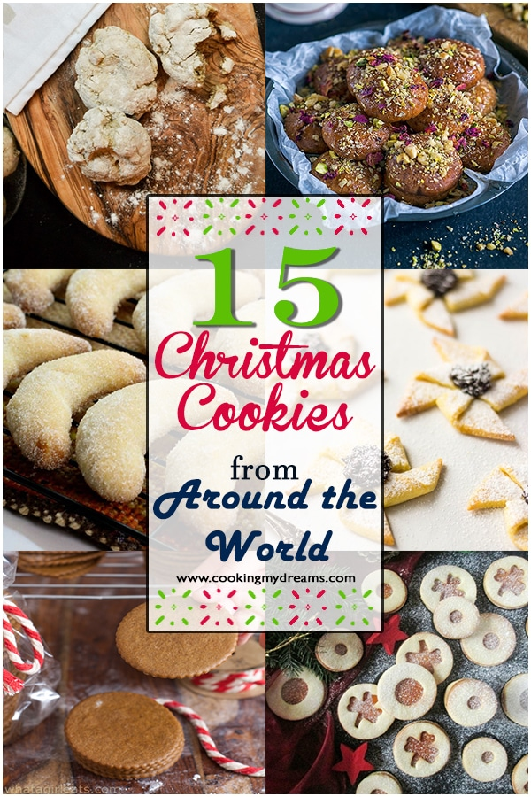 Christmas Cookies From Around The World With Pictures.15 Christmas Cookies From Around The World Cooking My Dreams