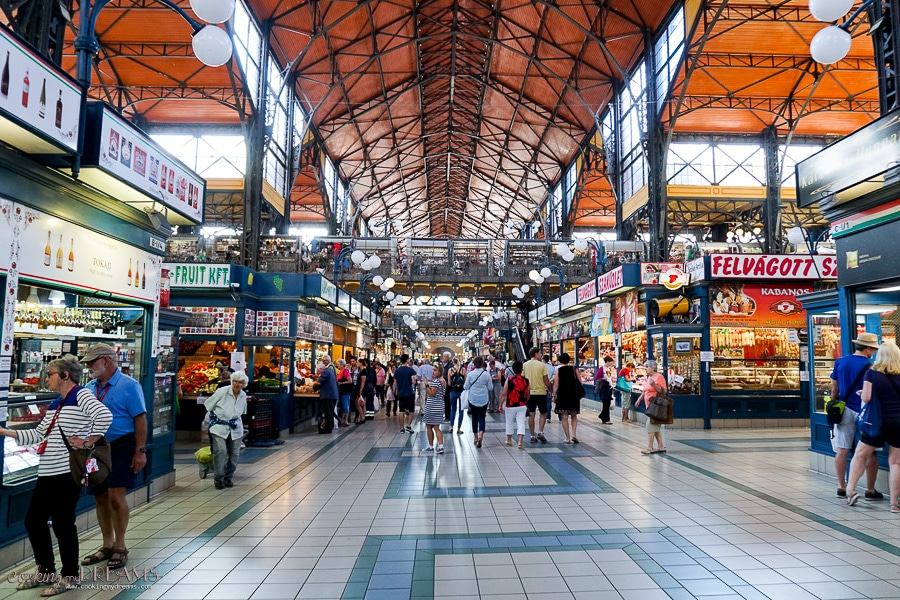 great market hall of Budapest