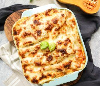 butternut squash and sausage lasagna