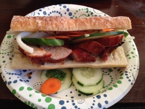 Banh Mi with Barbecue Pork