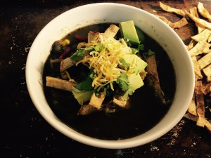 Extra Veggie Chicken Tortilla Soup