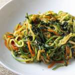 Thai Basil Pesto Zoodles